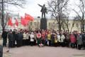 В сквере В.И.Ленина